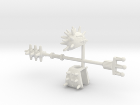 Spiko Set in White Natural Versatile Plastic