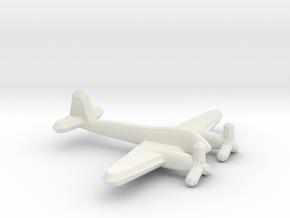 Me 410 Hornisse (1/900) in White Natural Versatile Plastic