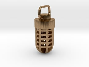 Scoutflies Cage in Natural Brass