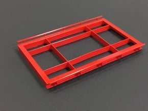 1/64 Truck Scale Frame 12*20' in Smooth Fine Detail Plastic