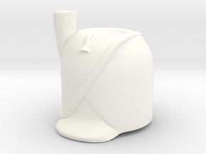 French Bearskin wPrim (old) in White Processed Versatile Plastic