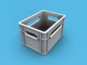 1/10th scale crate in White Natural Versatile Plastic