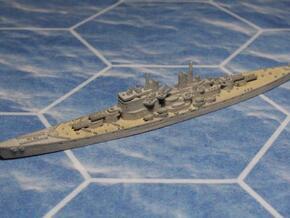 HMS Vanguard in White Natural Versatile Plastic