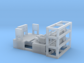 LNG Compressor - Nscale in Smooth Fine Detail Plastic