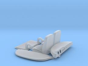 GINETTA G4 Seat Dash Trunklid 1/24 in Smooth Fine Detail Plastic