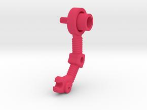 Nemesis Arm Right in Pink Processed Versatile Plastic