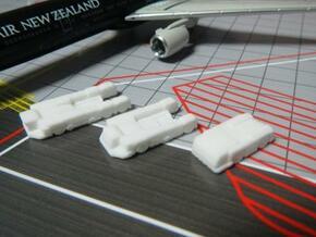 Airport GSE 1:400 Set 1: Pushback in White Processed Versatile Plastic