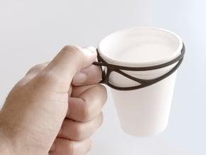 Cup Converter - size S in Black Natural Versatile Plastic