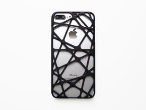 iPhone 7 & 8 Plus Case_Cross in Black Natural Versatile Plastic