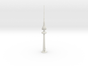 Liberation Tower (1:2000) in White Natural Versatile Plastic