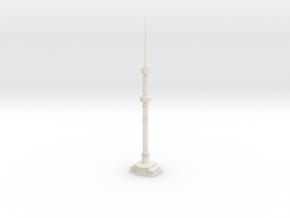 Almaty TV Tower (1:2000) in White Natural Versatile Plastic