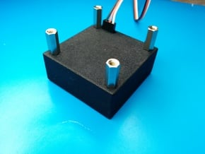 NicaDrone OpenGrab EPM Case in Black Natural Versatile Plastic