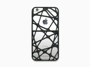 iPhone 6 / 6S Case_Cross in Black Natural Versatile Plastic