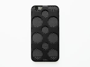 iPhone 6/6S Case_Dots in Black Natural Versatile Plastic