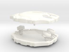 Digimon Digivice deluxe in White Processed Versatile Plastic