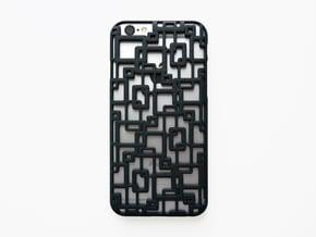 iPhone 6 / 6S Case_Connection in Black Natural Versatile Plastic