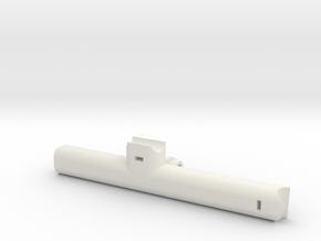 Phantom 4 Right GoPro Mount Main Brace  in White Natural Versatile Plastic