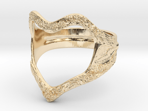 Heart of nature in 14k Gold Plated Brass: 5 / 49