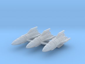 IPF Kestrel Fighter Rocket Wing in Smoothest Fine Detail Plastic