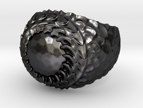 Dragon armor in Polished and Bronzed Black Steel: 7.5 / 55.5