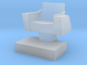Captain's Chair, 1:87 Scale in Smooth Fine Detail Plastic