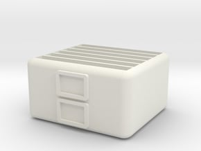 6-Game DS/3DS Cartridge Case in White Natural Versatile Plastic