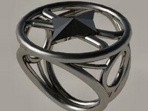 Size 20 0 mm LFC Diamonds in Polished Silver