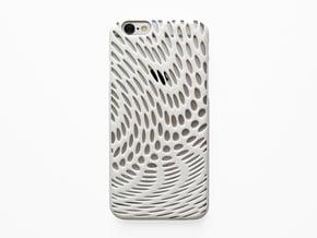 iPhone 6 / 6S Case_Wave in White Processed Versatile Plastic