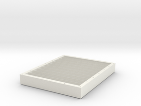 Papermaking Mould Frame in White Natural Versatile Plastic