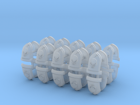Commission 27 Shoulder Pad icons #1 x40 in Smooth Fine Detail Plastic