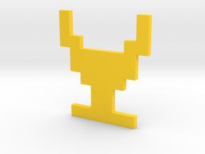 Atari Adventure Chalice - Medium in Yellow Processed Versatile Plastic: Medium