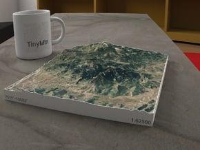 Central Elkhead Mountains, Colorado, 1:62500 in Full Color Sandstone