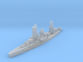 Ise battleship 1/4800 in Smooth Fine Detail Plastic