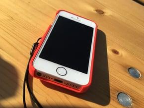 iPhone 5S & SE Garmin Mount Case in Red Processed Versatile Plastic