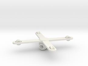 GoPro Compatible Kite Picavet in White Natural Versatile Plastic