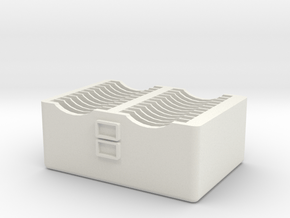22-Game 3DS Cartridge Case in White Natural Versatile Plastic