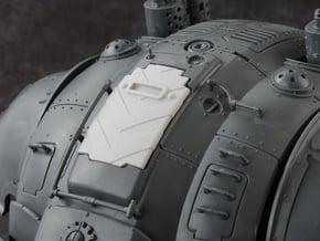 Hazard Marines 2 - Carapace Hatch in Smoothest Fine Detail Plastic