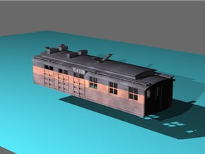 """Milwaukee Road Boxcab """"Bobtail"""" Unit in Smooth Fine Detail Plastic"""