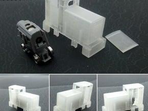 009 Orenstein & Koppel MD2 Locomotive in Smooth Fine Detail Plastic