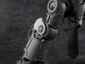 Custodian Guard - Knee Fan Plates (2pc) in Smooth Fine Detail Plastic