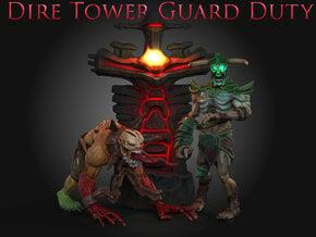 DireTowerGuardDuty: DireTower in Full Color Sandstone