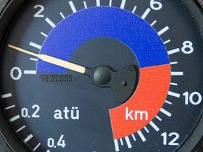 Fl 22325 Pointer for Cabin Pressure Indicator in Smoothest Fine Detail Plastic