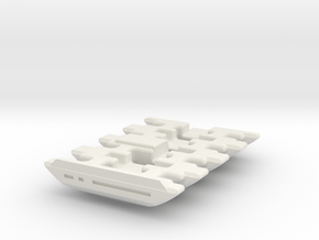 NWL Kanan - Master Part8-NB Lightsaber Chassis in White Natural Versatile Plastic