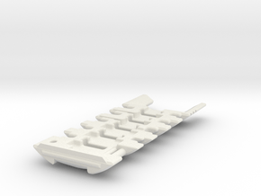 NWL Kanan - Master Part8-CF Lightsaber Chassis in White Natural Versatile Plastic