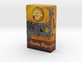 Double Tap Root Beer - Nazi Zombies Miniature Perk in Full Color Sandstone