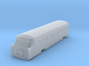 Aerotrain Wagon Tail Nscale in Smoothest Fine Detail Plastic