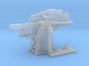 1/200 USN 5 inch Loading Machine Starboard in Smooth Fine Detail Plastic