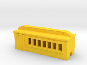 Colorado Southern Day Coach in Yellow Processed Versatile Plastic