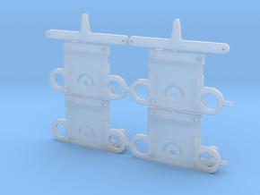 2x Weichenlaternen Antrieb in Smooth Fine Detail Plastic