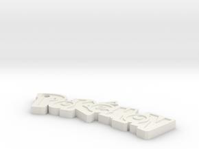 Pokemon keychain in White Natural Versatile Plastic